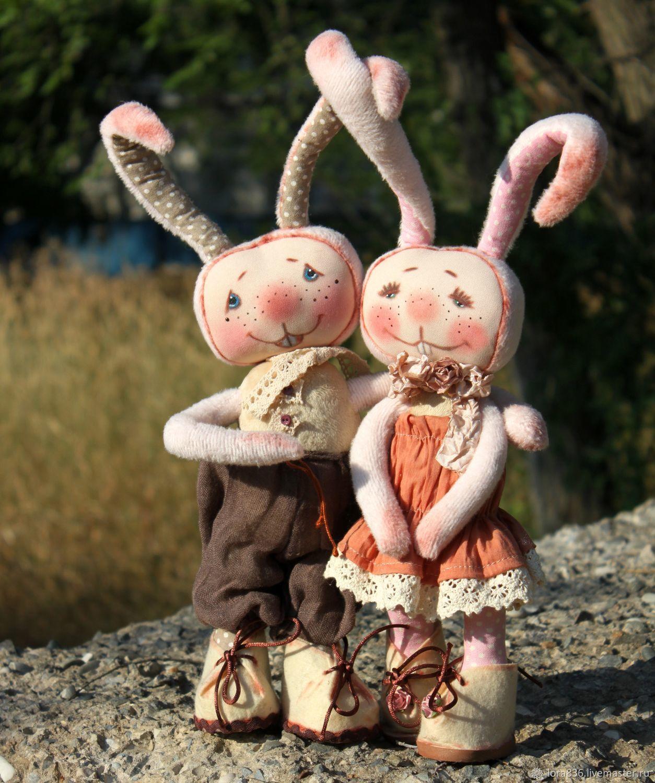 Love bunnies Price per pair, Stuffed Toys, Volzhsky,  Фото №1