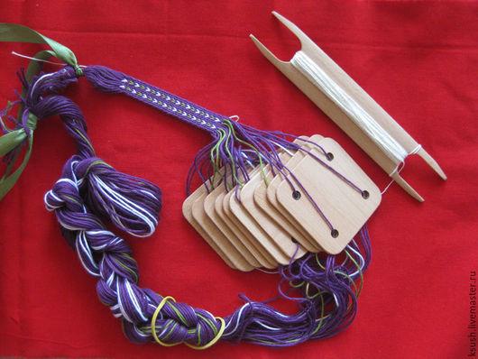 Другие виды рукоделия ручной работы. Ярмарка Мастеров - ручная работа. Купить Дощечки для ткачества поясов. Handmade. Дощечки