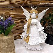 Народная кукла ручной работы. Ярмарка Мастеров - ручная работа Ангел-хранитель - текстильная кукла-оберег для себя, для дома. Handmade.