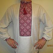 Одежда handmade. Livemaster - original item The shirt in the Slavic style mens. Handmade.
