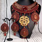 Украшения handmade. Livemaster - original item Necklace of beads and stones