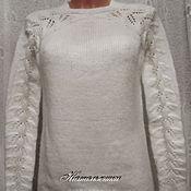 """Одежда ручной работы. Ярмарка Мастеров - ручная работа Джемпер """"Листочки"""". Handmade."""