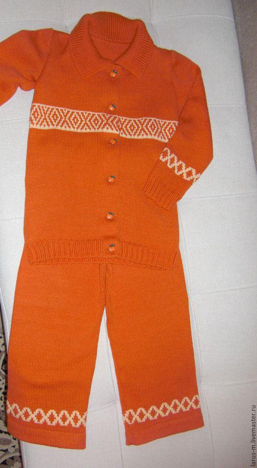 Одежда унисекс ручной работы. Ярмарка Мастеров - ручная работа. Купить Детский брючный костюм. Handmade. Комбинированный, детский костюм