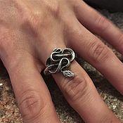 Фен-шуй и эзотерика handmade. Livemaster - original item Snake ring. Handmade.