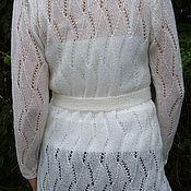 Одежда ручной работы. Ярмарка Мастеров - ручная работа кардиган Снежана. Handmade.