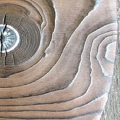 Для дома и интерьера ручной работы. Ярмарка Мастеров - ручная работа Сероглазка - сервировочная доска. Handmade.