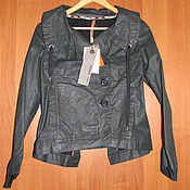 Винтаж handmade. Livemaster - original item Vintage clothing: Black jacket windbreaker Cop Copine. Handmade.