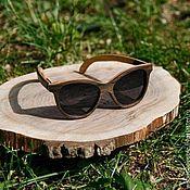 Аксессуары ручной работы. Ярмарка Мастеров - ручная работа Деревянные солнцезащитные очки модель INFINITY long. Handmade.