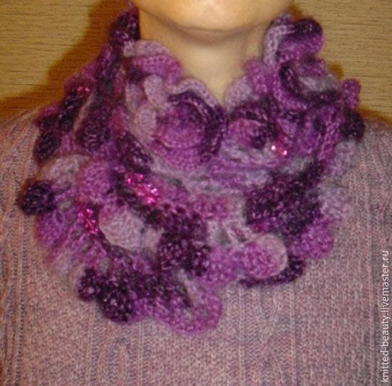 Ажурная шарф своими руками - Открытки своими руками на день рождения или в