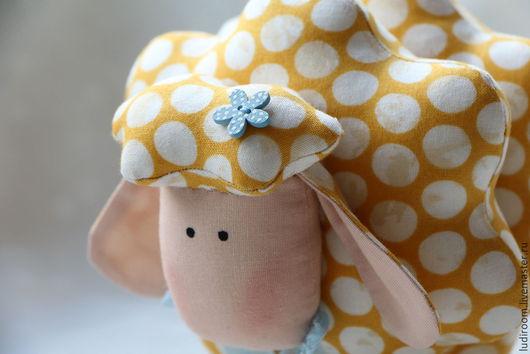 Куклы Тильды ручной работы. Ярмарка Мастеров - ручная работа. Купить Тильда  овечка. Handmade. Желтый, тильды, интерьерная игрушка