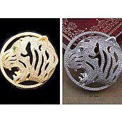 Коннектор Леопард серебро и золото (Milano)