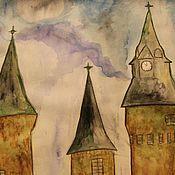 Картины и панно ручной работы. Ярмарка Мастеров - ручная работа Сказочный замок. Handmade.