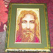 Картины и панно ручной работы. Ярмарка Мастеров - ручная работа икона Иисус. Handmade.