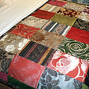 Для дома и интерьера ручной работы. Ярмарка Мастеров - ручная работа Двухсторонее лоскутное покрывало. Handmade.