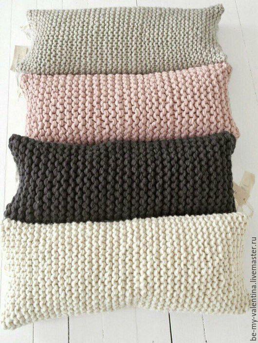 Текстиль, ковры ручной работы. Ярмарка Мастеров - ручная работа. Купить Хлопковая подушка. Handmade. Хлопок, вязание, подушка в авто