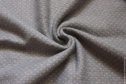 Шитье ручной работы. Ярмарка Мастеров - ручная работа. Купить 34801 нежная итальянская костюмка. Handmade. Серый, Итальянская шерсть