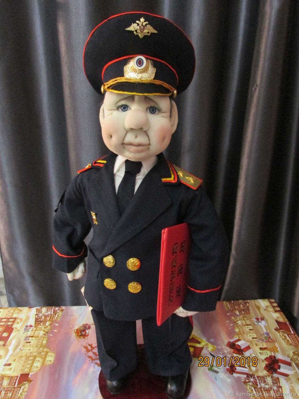 генерал полиции Светиков))), Куклы, Тюмень, Фото №1
