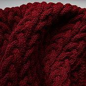 Аксессуары handmade. Livemaster - original item Warm Snood (scarf clip) Merino wool