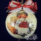Подарки к праздникам handmade. Livemaster - original item interior ball I`m waiting for you.... Handmade.