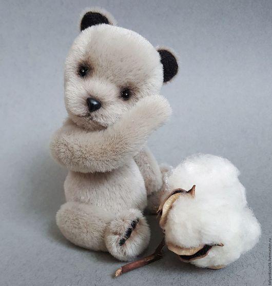 Мишки Тедди ручной работы. Ярмарка Мастеров - ручная работа. Купить Мишка тедди Плюшик. Handmade. Серый, миник