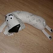 Куклы и игрушки ручной работы. Ярмарка Мастеров - ручная работа Игрушка-подушка Собака без имени. Handmade.