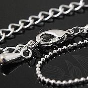 Материалы для творчества handmade. Livemaster - original item Jewelry chain art. 3-29 with lock and extension cord. Handmade.