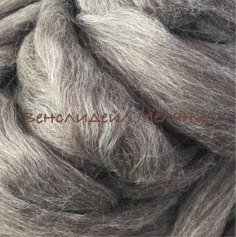 Wensleydale Wool (Wensleydale). Germany. Tops. 50 gr.-215r, Fabric, Moscow,  Фото №1