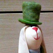 Куклы и игрушки ручной работы. Ярмарка Мастеров - ручная работа зайчик. Handmade.