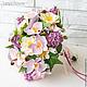 Свадебные цветы ручной работы. Ярмарка Мастеров - ручная работа. Купить Букет с орхидеями и сиренью. Handmade. Букет, букет на свадьбу