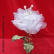 """Свадебный салон ручной работы. Ярмарка Мастеров - ручная работа Подставка для колец """"Роза"""". Handmade."""