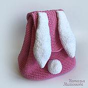 Работы для детей, ручной работы. Ярмарка Мастеров - ручная работа Детский рюкзак Зайка. Handmade.