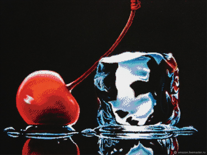 "Набор для вышивания бисером ""Вишня со льдом"", Creator\'s Kit, Ufa,  Фото №1"