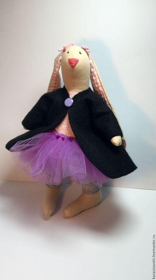 Куклы Тильды ручной работы. Ярмарка Мастеров - ручная работа. Купить зайка Нежность. Handmade. Комбинированный, зайка, тильда