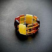handmade. Livemaster - original item Ring made of amber. Handmade.