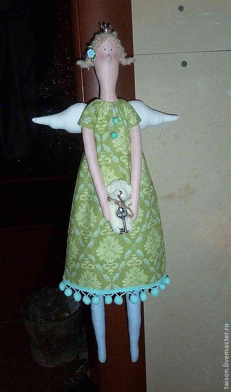 Куклы Тильды ручной работы. Ярмарка Мастеров - ручная работа. Купить Просто принцесса!. Handmade. Голубой, тильда, принцесса, ангел