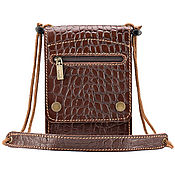 Сумки и аксессуары handmade. Livemaster - original item Leather bag for documents