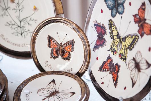 Сервизы, чайные пары ручной работы. Ярмарка Мастеров - ручная работа. Купить Ботанический сервиз. Керамика ручной работы. Handmade.