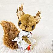 Куклы и игрушки ручной работы. Ярмарка Мастеров - ручная работа Белочка-проказница :). Handmade.