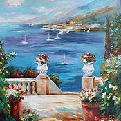 Картины и панно handmade. Livemaster - original item Seaside landscape