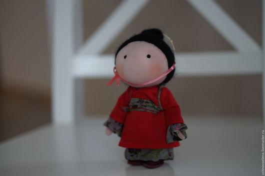 Коллекционные куклы ручной работы. Ярмарка Мастеров - ручная работа. Купить Кукла домовой-оберег Khоn. Handmade. Комбинированный
