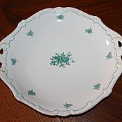 Винтаж handmade. Livemaster - original item Beautiful, vintage dish decorated with roses, Weimar, Herm. Handmade.