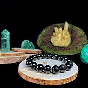 Украшения handmade. Livemaster - original item Bracelet natural obsidian. Handmade.