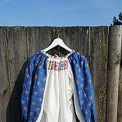 Одежда ручной работы. Ярмарка Мастеров - ручная работа Блузка в русском стиле. Handmade.