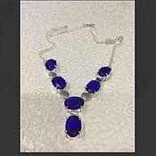 Украшения handmade. Livemaster - original item Jewelry sets: Iolite (Cordierite)in silver. Handmade.