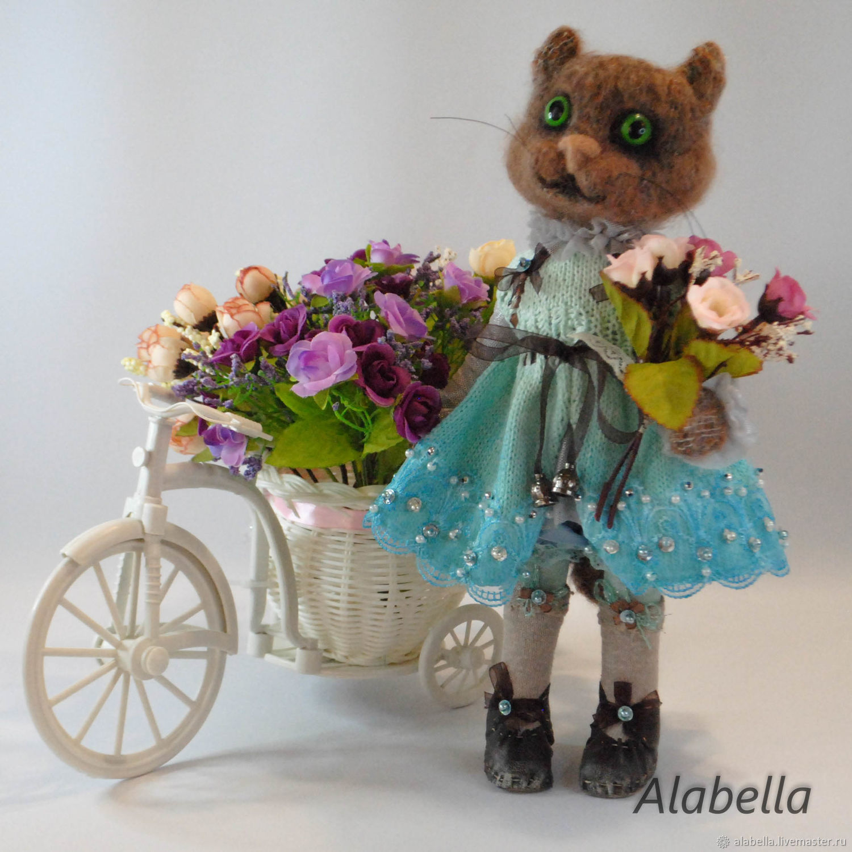 Кошка Кетти, Мягкие игрушки, Мурманск,  Фото №1