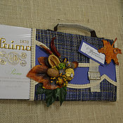 Подарки к праздникам ручной работы. Ярмарка Мастеров - ручная работа портфель из конфет для учителя. Handmade.