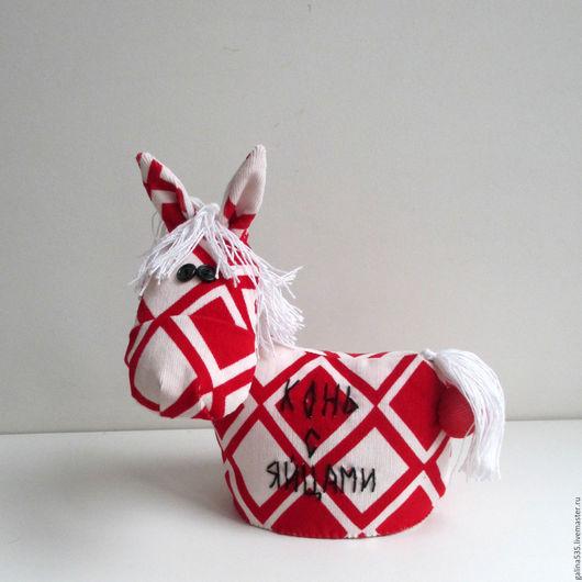Игрушки животные, ручной работы. Ярмарка Мастеров - ручная работа. Купить Мягкая игрушка лошадка. Огненный конь. Конь с яйцами. Богатырский конь. Handmade.