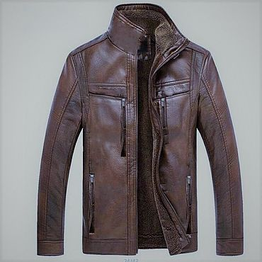 Clothing handmade. Livemaster - original item Men`s leather jacket 0097. Handmade.