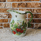 Посуда handmade. Livemaster - original item Pitcher ceramic