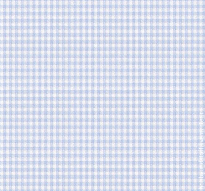 Немецкий хлопок голубая клетка, Ткани, Москва,  Фото №1